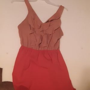 Mossimo Pink Duel Tone Dress